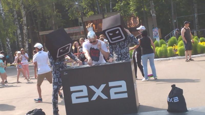 Поугарал на фестивале 2x2 djnovl 2x2 телеторт
