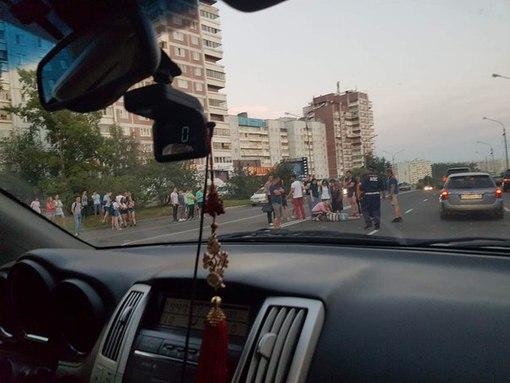 24 июля сбита женщина на пешеходном переходе