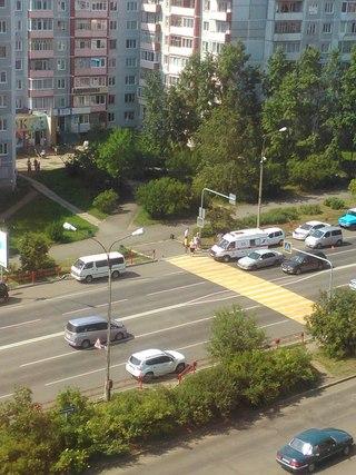 25 июля сбита женщина на пешеходном переходе