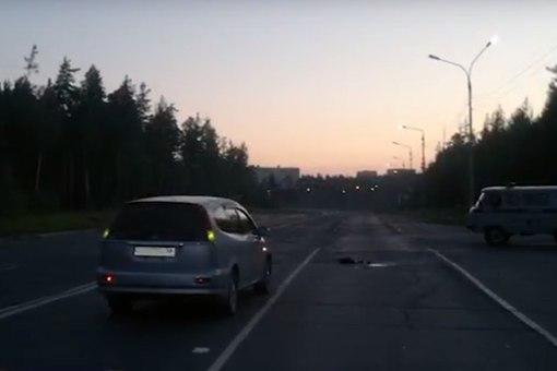 27 июля «Хонда» сбила женщину, которая шла по проезжей части