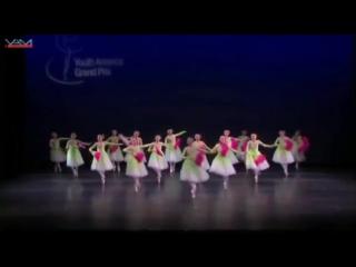 【美国亚特兰大魏东升(亚专)舞校】2014 NYC YAGP Ensemble Top-12 'Jasmine Flower' by APDA.mp4