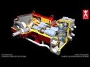 Плунжерный насос Speck Triplex Plunger pump animation