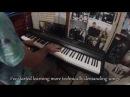 Парень снимал как учится игре на фортепиано от 1 дня до полутора года Нет ни