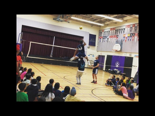 Terrel Bramwell | Wooow Incredible Spike | Height - 62 ft (188cm)