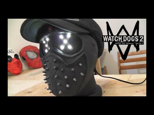 Как сделать Маску Ночник Ренча из игры Watch Dogs 2