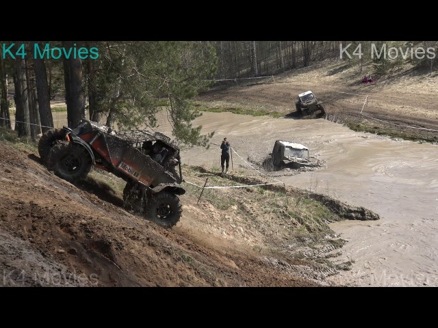 New | Off-Road vehicles vs Water pool and hill || ET2 ||| Oro 2017