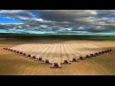 Мировой рекорд – 249 комбайнов одновременно собирают урожай