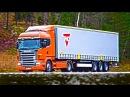 НОЧНЫЕ ГОНКИ НА ГРУЗОВИКАХ - Euro Truck Simulator 2 ETS 2