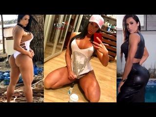 Gracyanne Barbosa - Legend Brazilian Fitness Model | Monster Quads, Glutes