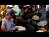 Central Park Drum Circle, NYC, July 6, 2014