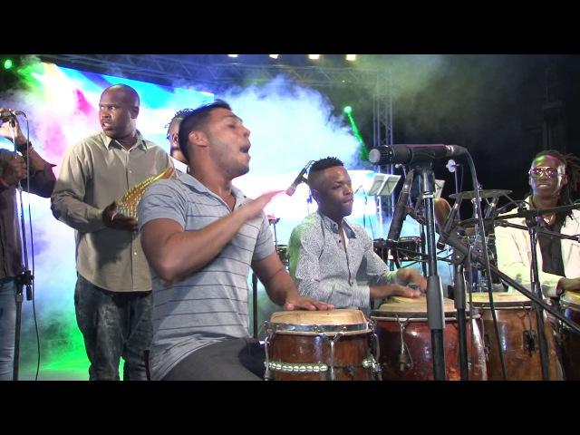 Osain del Monte en el Teatro Mella Fiesta del Tambor Popular 2016