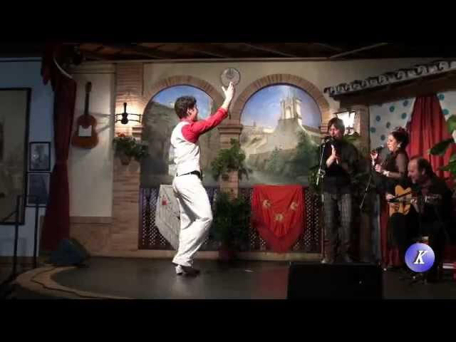 Alberto Selles - baile por alegria -Final Prov. III Certamen Andaluz de Jovenes Flamencos