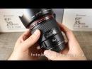 Canon EF 35mm f/1.4L USM видео обзор объектива личный опыт