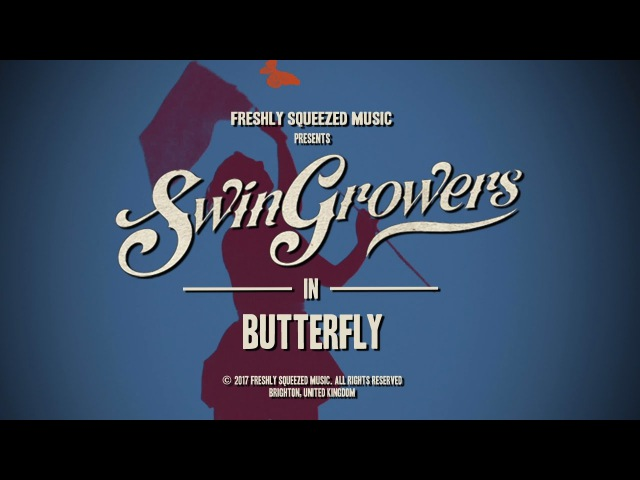 Swingrowers - Butterfly ( Official promo video ) - Original Electro Swing Mix (2017)