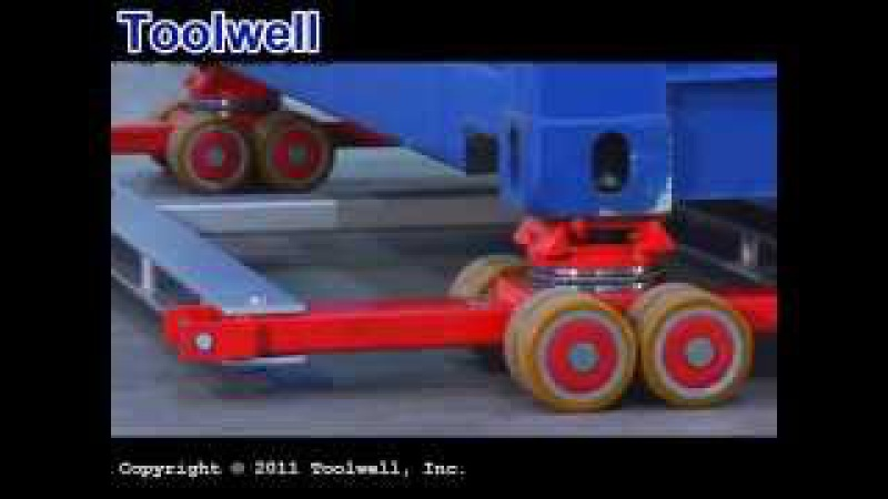Container Dollies - Toolwell 2012