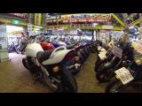 Япония. Мото мекка 3 этажа битком набитые мотоциклами. в Японии. RED BARON Весна 2016