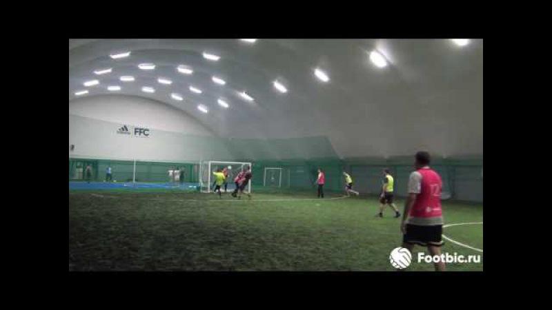 FOOTBIC.RU. Видеообзор 7.07.2017 (Метро Марьина Роща). Любительский футбол