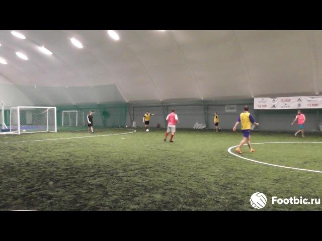 FOOTBIC.RU. Видеообзор 3.07.2017 (Метро Марьина Роща). Любительский футбол