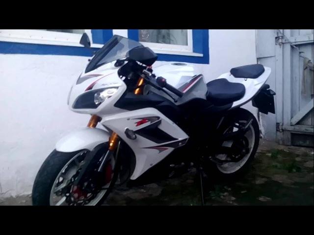 Спортуха за 70 т.р. китайский мотоцикл Nan Fang 250-8A (NF 250 8a)? Обзор