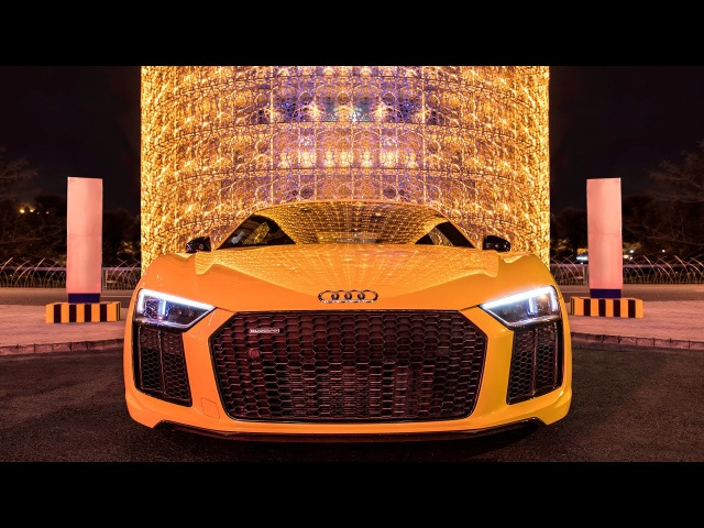 2017 Audi R8 V10 Plus (610hp) in Vegas Yellow - Sound, launch control, interior, exterior