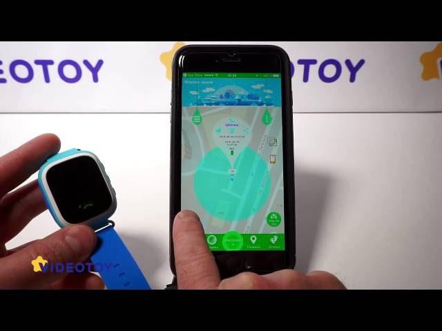 Как быстро настроить GPS часы Smart Baby Watch в SeTracker2