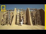 Работающие 1000-летние ветряные мельницы на северо-востоке Ирана
