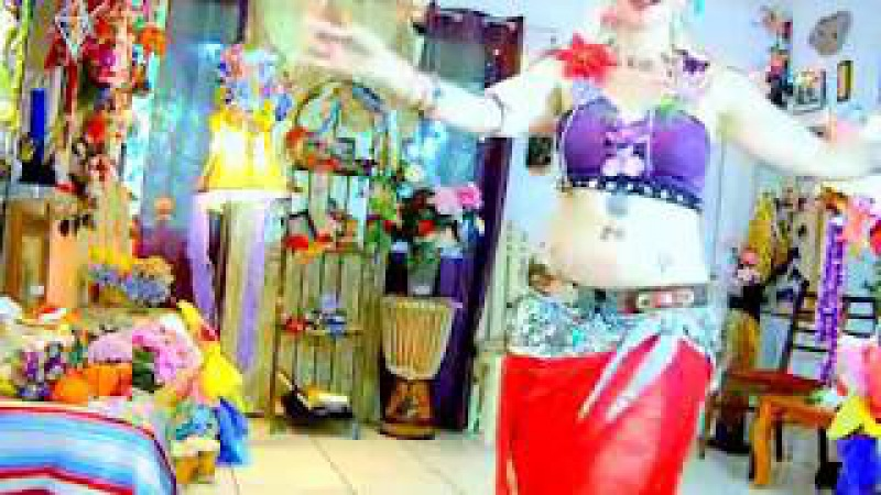Tribal Fusion Belly Dance - Take a piece of my sweet heart