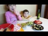 Готовим салат крабовый рай вместе с Даней Cooking salad crab Paradise, with Dani