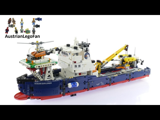 Конструктор Decool 3370 аналог Lego Technic 42064