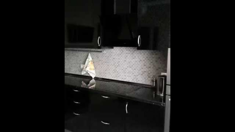 Видео отчет о реализованной кухни на заказ.