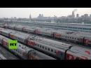 Descubra cómo es viajar en la red ferroviaria de Rusia