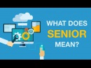 what means senior Definition of senior citizens in the legal dictionary - by free online english dictionary and encyclopedia what is senior citizens meaning of senior citizens as a.