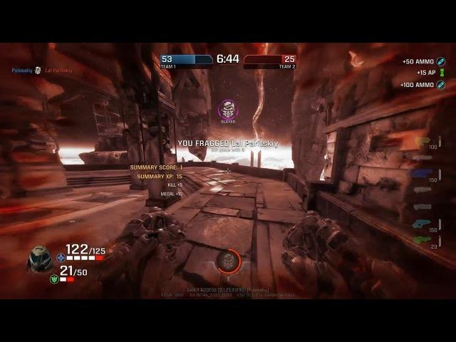 Quake Champions – Doom Slayer, new maps (by Polosatiy)