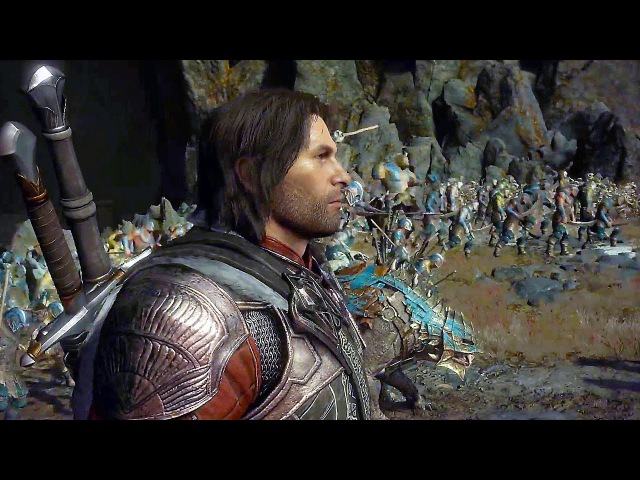 Shadow of War NEW Gameplay The Cirith Ungol Region Open World