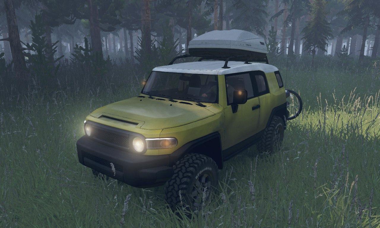 Toyota FJ Cruiser Pack для 03.03.16 для Spintires - Скриншот 3