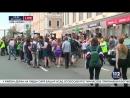 Киев, 18 июня, 2017 .гей-парад видео украинского ТВМежду участниками Марша равенства и представителями радикальных движений пр