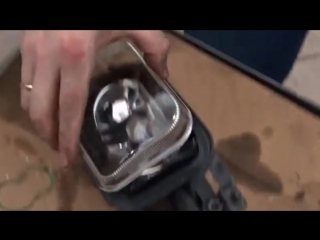 Ремонт противотуманных фар (замена стекла) на Mercedes-Benz C180 W203.mp4