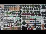 гравировка глубокая минералов Мишанов Роман камни с Камы