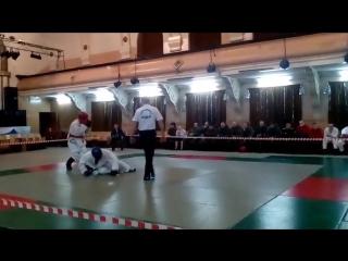 Багян Нарек (в синем), соревнования по АРБ 12.01.2017