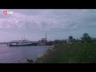 Украинский  лайнер Генерал Ватутин, который идёт не в Одессу