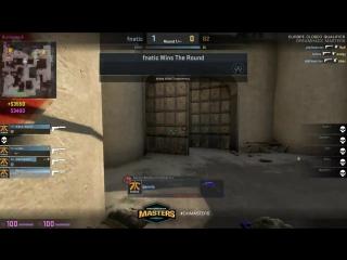 DH Las Vegas EU qual.: KRIMZ 3k + Olofm 2k vs. G2 @ de_dust2