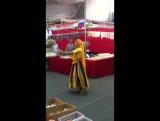 russian girl dance on hindi song