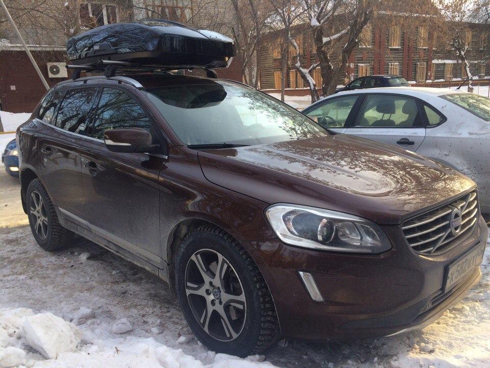 Багажник и бокс на крышу Volvo XC 60
