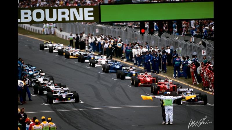 09.03.1997 г. Гран-При Австралии,Мельбурн. Гонка