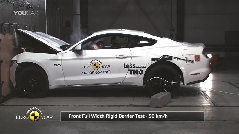 Ford Mustang 2017 [EU] Bad Result to Crash Test (EuroNCAP)