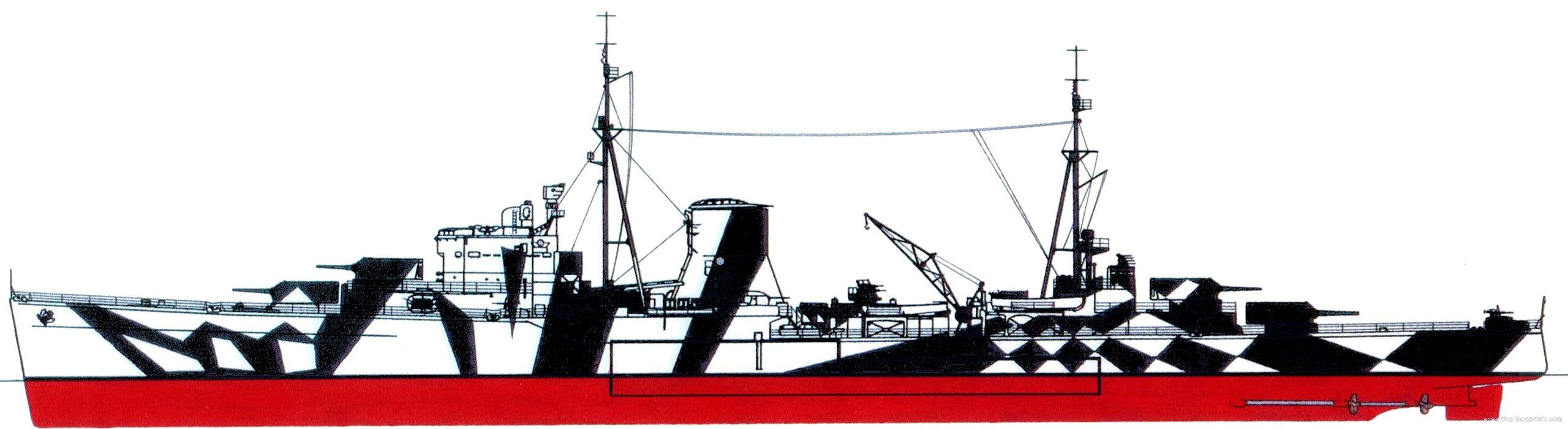 HMS Ajax 1941