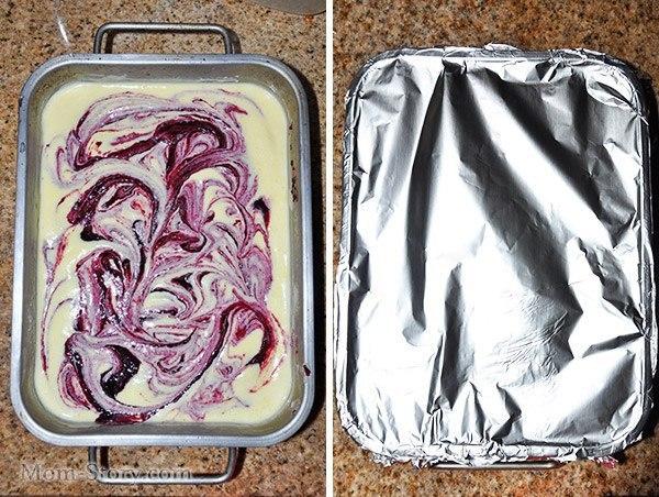 Домашнее мороженое с черной смородиной Спешу поделиться с