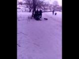 горка в парке Алчевск. карантин.