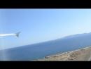 Я заснял наш взлет из аэропорта Ираклион о Крит