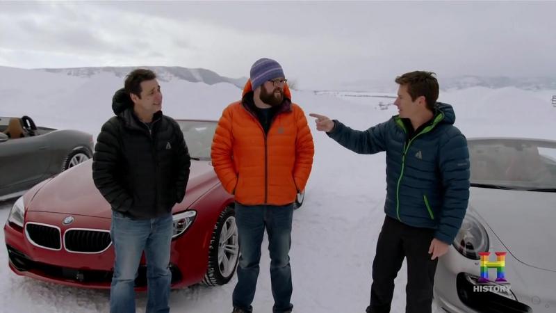 Top Gear Америка 5 сезон 8 серия - Зимой без крыши [RUS] [Jetvis Studio] [HD] Топ Гир US USA America